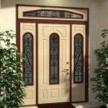 Дизайн входной двери. Как подобрать украшения и фурнитуру