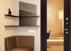 Дизайнерское оформление входной двери квартиры и частного дома. Варианты внутренней и внешней отделки