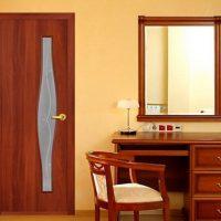 Межкомнатные двери орехового цвета. Миланский, итальянский, темный оттенок