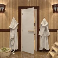 Входные двери в баню. Виды, возможности, специфика конструкции