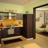 Раздвижные двери на кухню. Виды, достоинства, материал