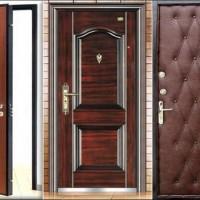 Варианты отделки входной двери