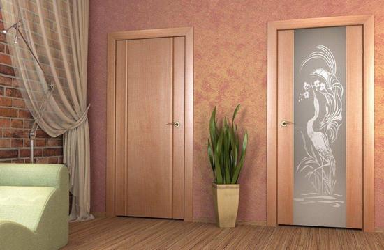 Ламинированные внутренние двери