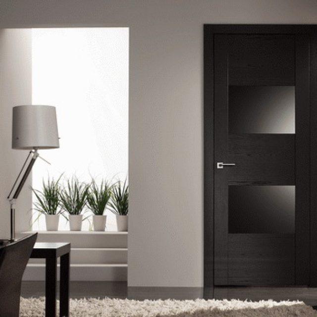Черная межкомнатная дверь. Секреты и особенности размещения