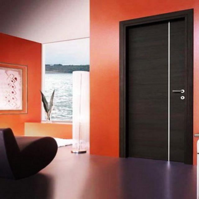Межкомнатные двери в стиле модерн. Возможности оформления