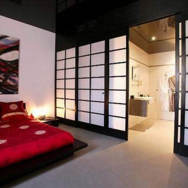 Межкомнатные раздвижные двери в японском стиле: классические сёдзи и современные конструкции