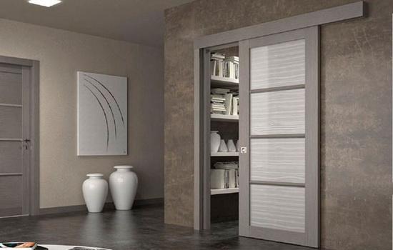 Одностворчатые раздвижные двери. Описание видов, возможностей и конструкции
