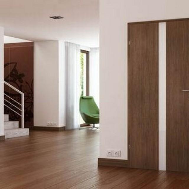 Особенности подбора цвета межкомнатных дверей под ламинат