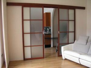 Сдвижные межкомнатные двери: виды, особенности, установка