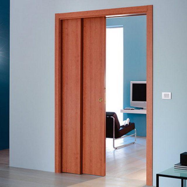 Телескопические межкомнатные двери. Специфика конструкции и добора